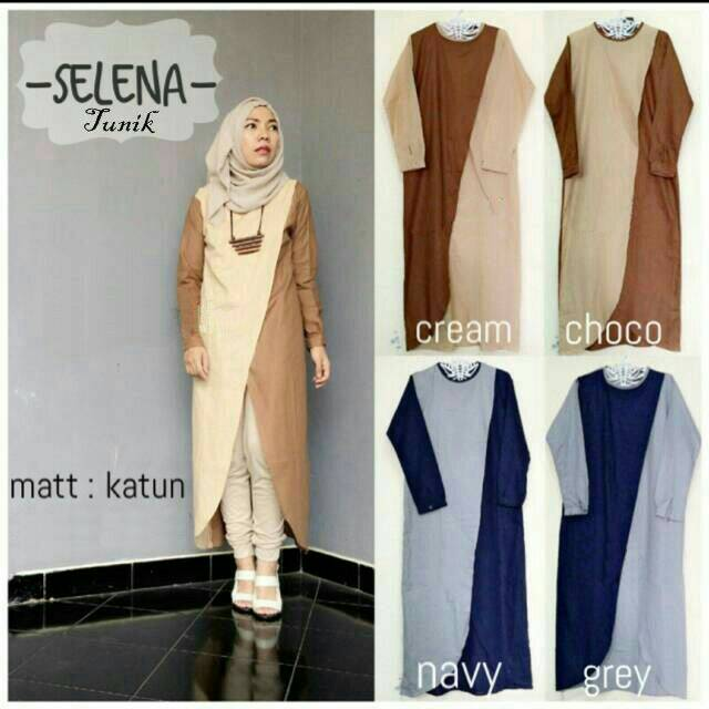 Hijab Fashion Murah : Selena Tunik