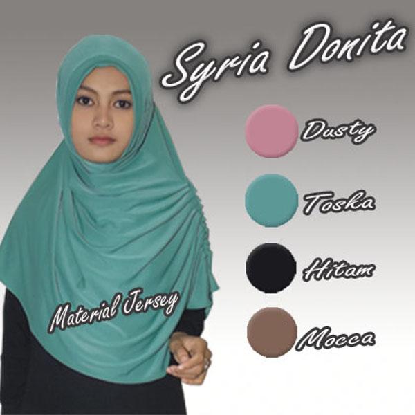 Hijab / Kerudung / Jilbab Syria Donita
