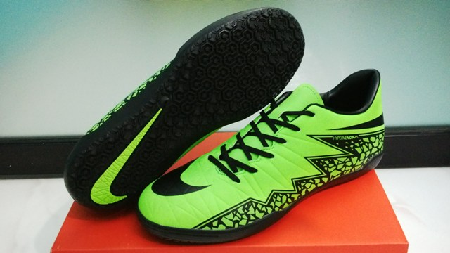 Jual Sepatu Futsal Nike Hypervenom Hijau Volt - Bobos Shop