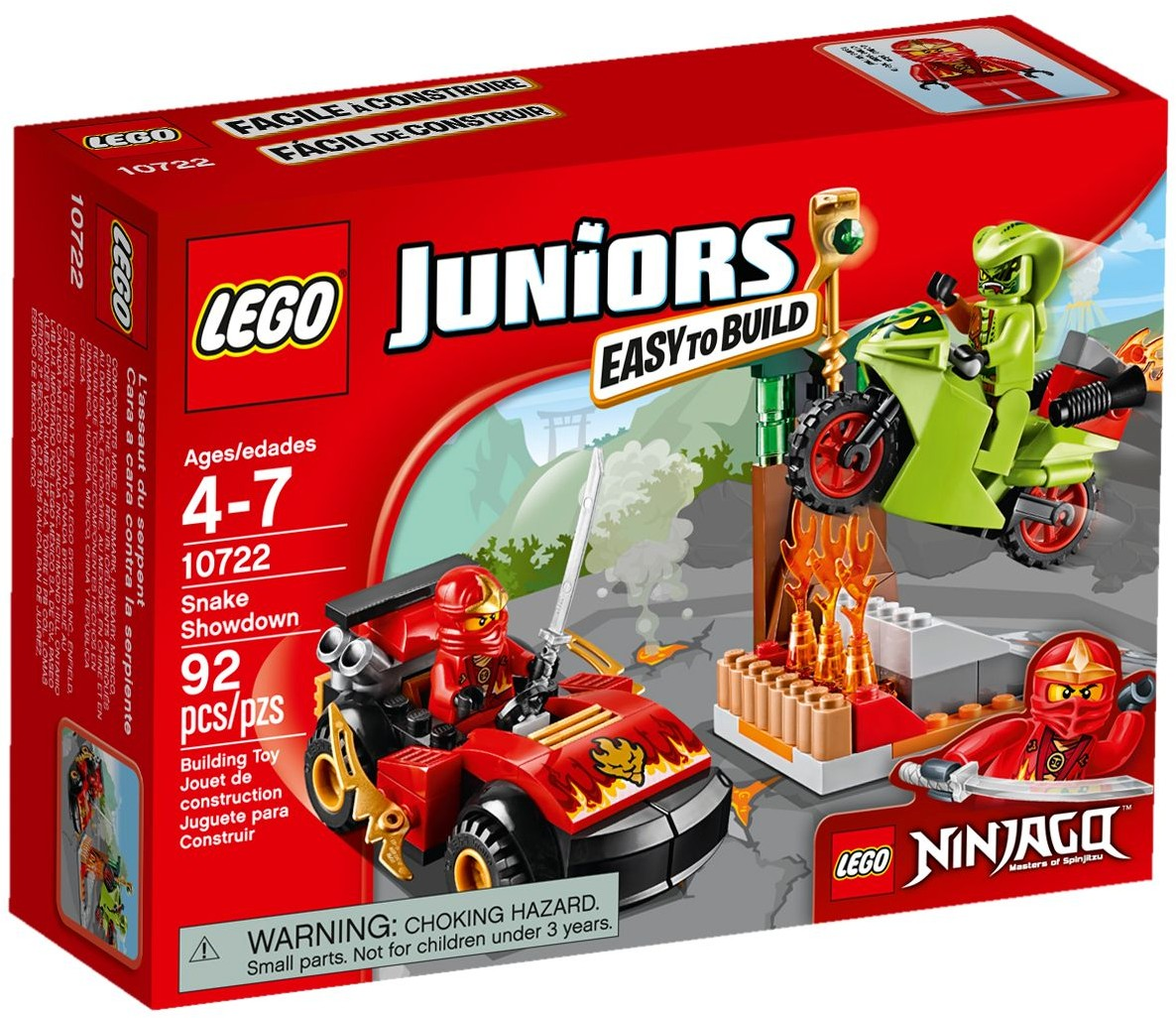 LEGO # 10722 JUNIORS NINJAGO Snake Showdown