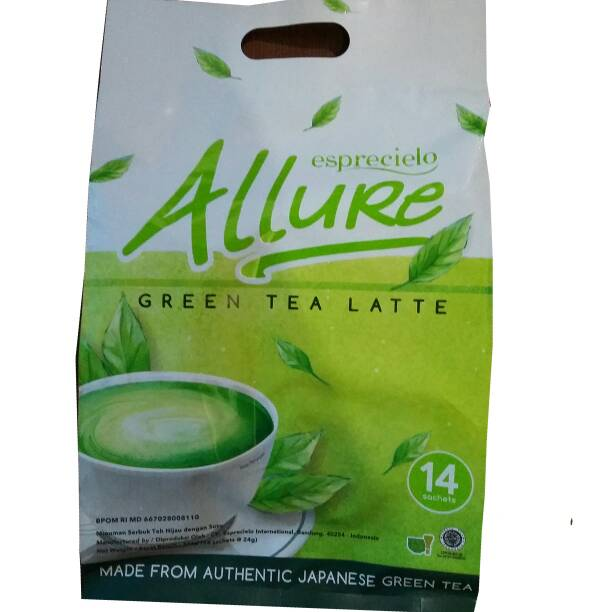 ALLURE - Japanese Green Tea Latte