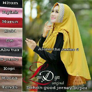 Hijab khimar Alona ori Laudya