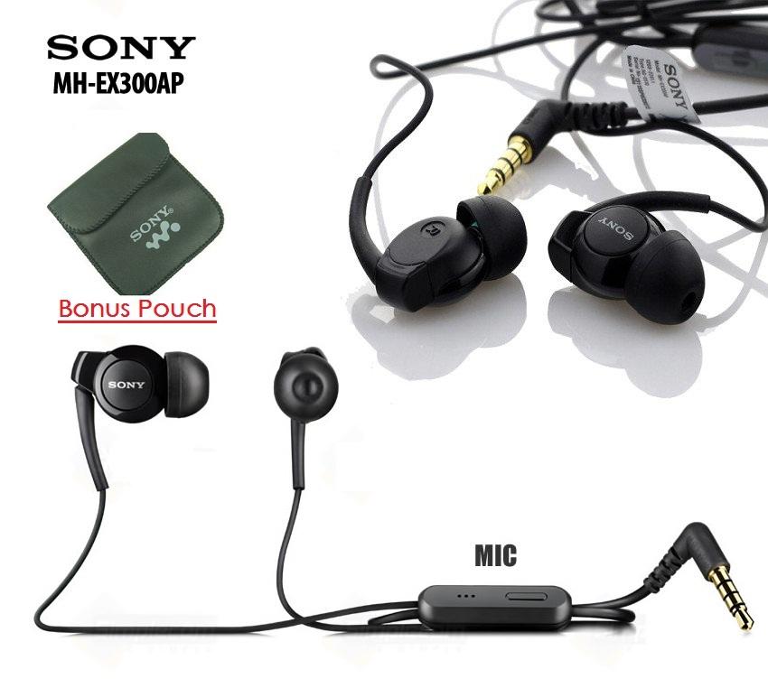 harga Original Sony Xperia Monitor Headset Mh - Ex300ap Copotan Earphone Blanja.com