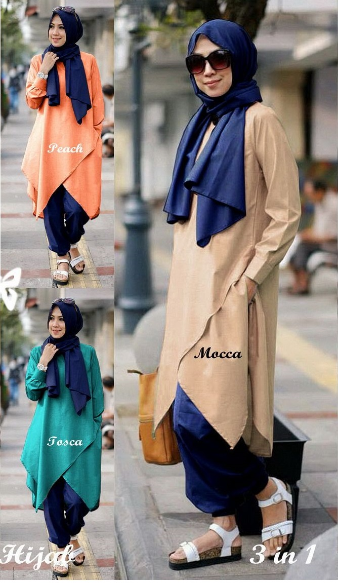 imelda hijab set 3in1