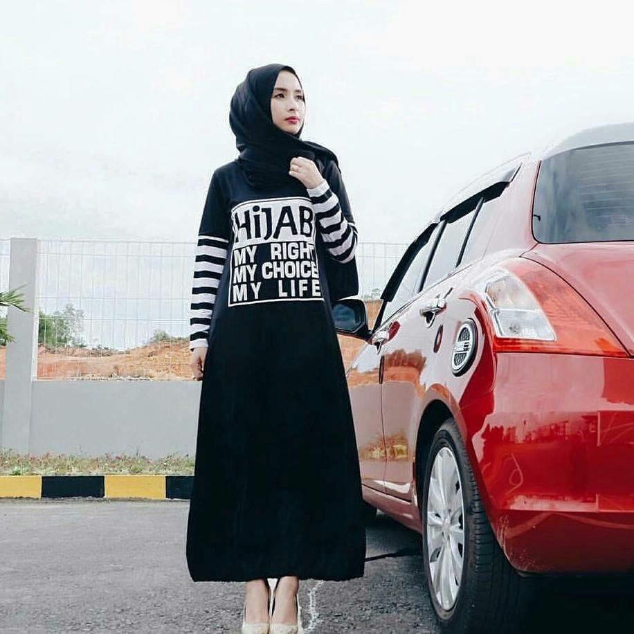 Hijab my3 dres tunik baju wanita