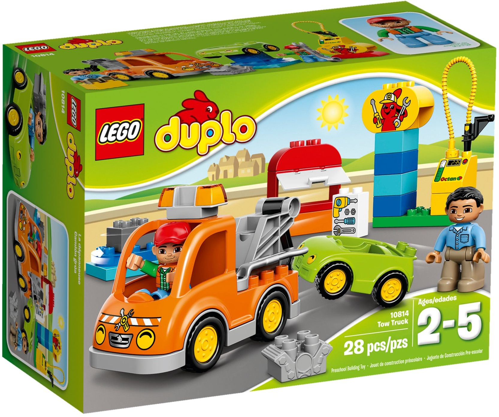 LEGO # 10814 DUPLO Tow Truck