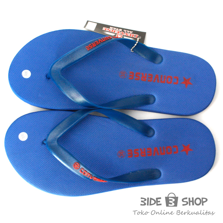 Jual Sandal Jepit Converse Biru All Sendal Pria Murah ...