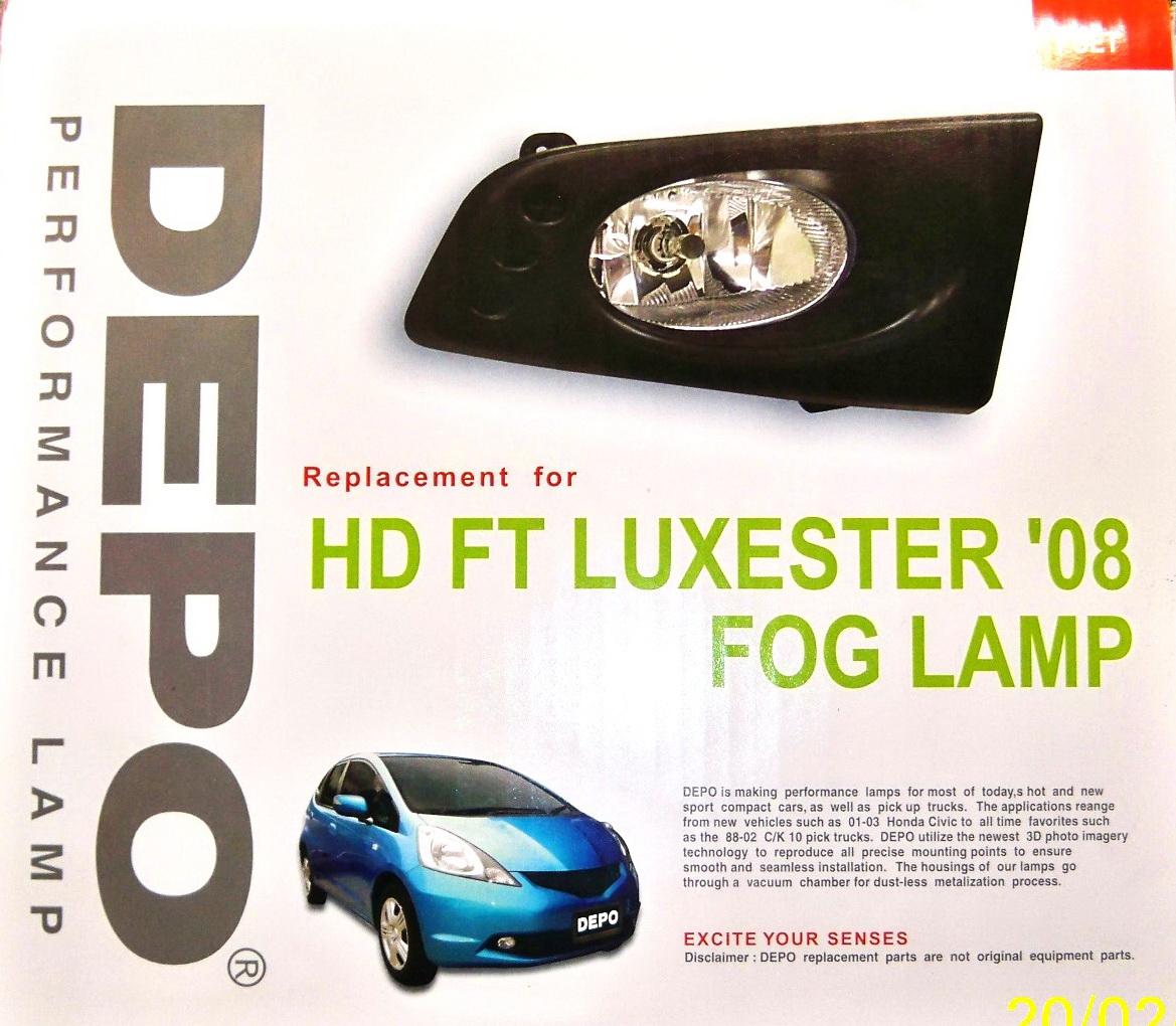 Foglamp Esuse untuk Jazz type S