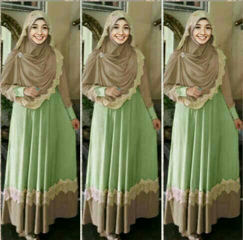 Hijab Mint 2in1