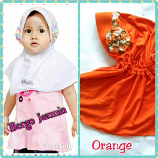 handmade hijab anak bergo jazmin