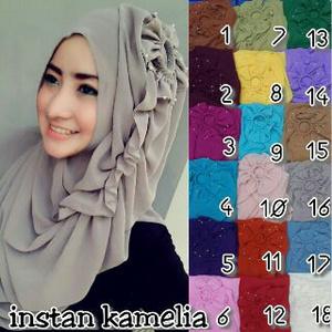 Hijab Instant Kamelia
