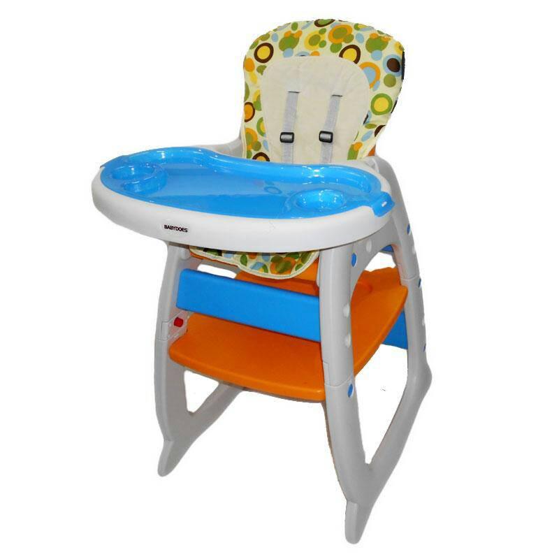 Kursi makan bayi/anak Baby Does 2in1 (kursi makan & meja)