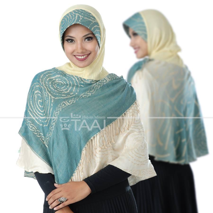 Taaj jilbab instan pashmina hijab bergo kerudung syar'i KPP