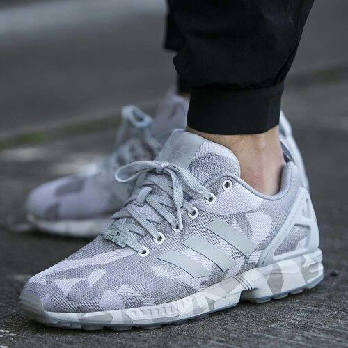 new mens adidas originals zx flux running shoes trainers CotArroz