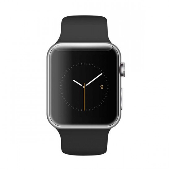Jual Apple Watch Sport 42mm Silver Aluminum With Black