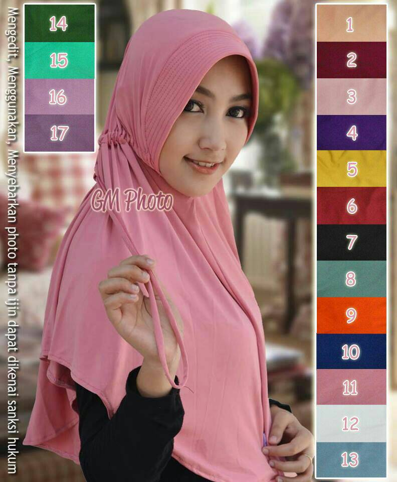 Hijab Talita Serut