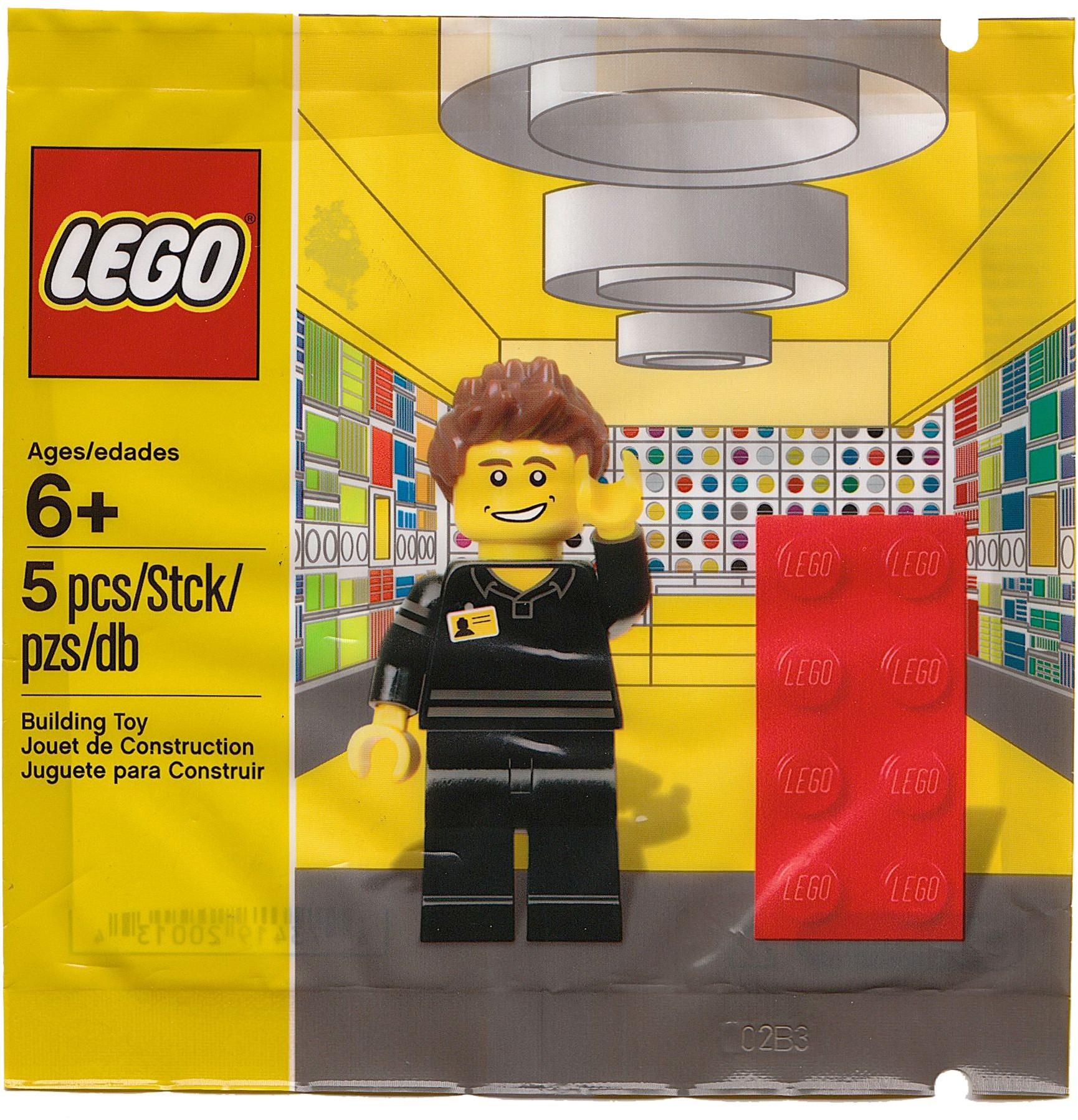 LEGO 5001622 - Polybag - LEGO store employee