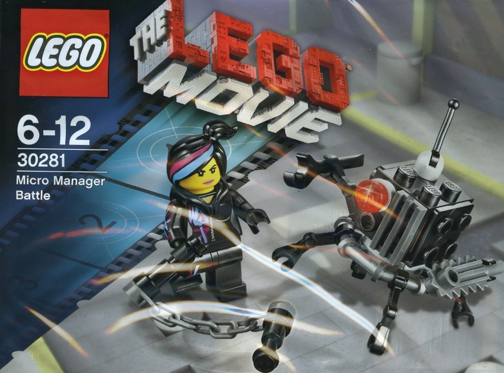 LEGO 30281 - Polybag - Micro Manager Battle