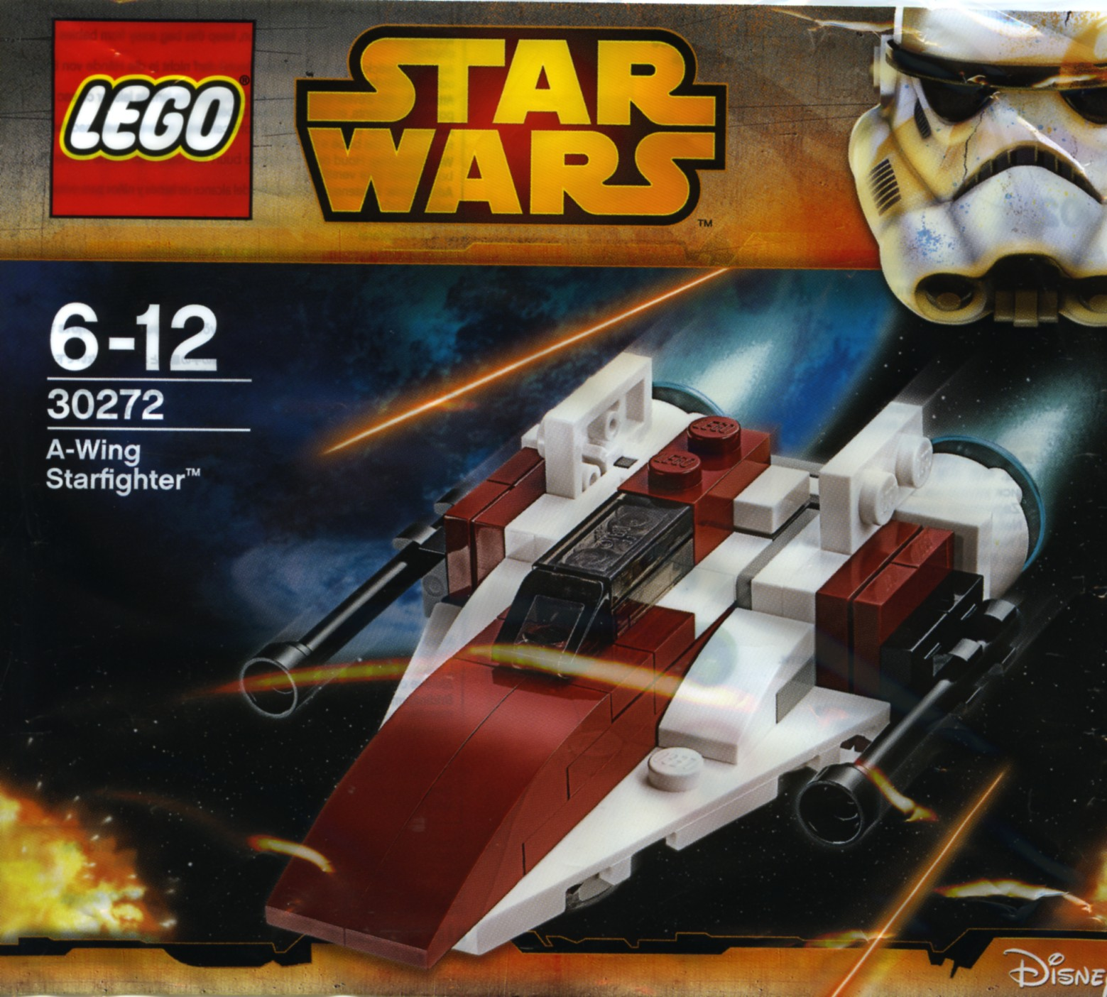 LEGO 30272 - Polybag - A-Wing Starfighter