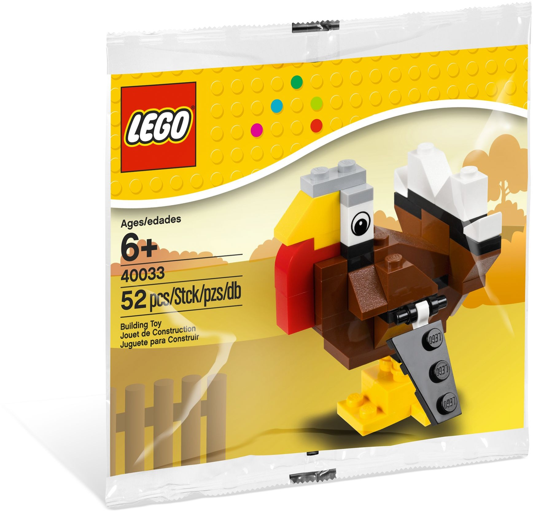 LEGO 40033 - Polybag - Turkey