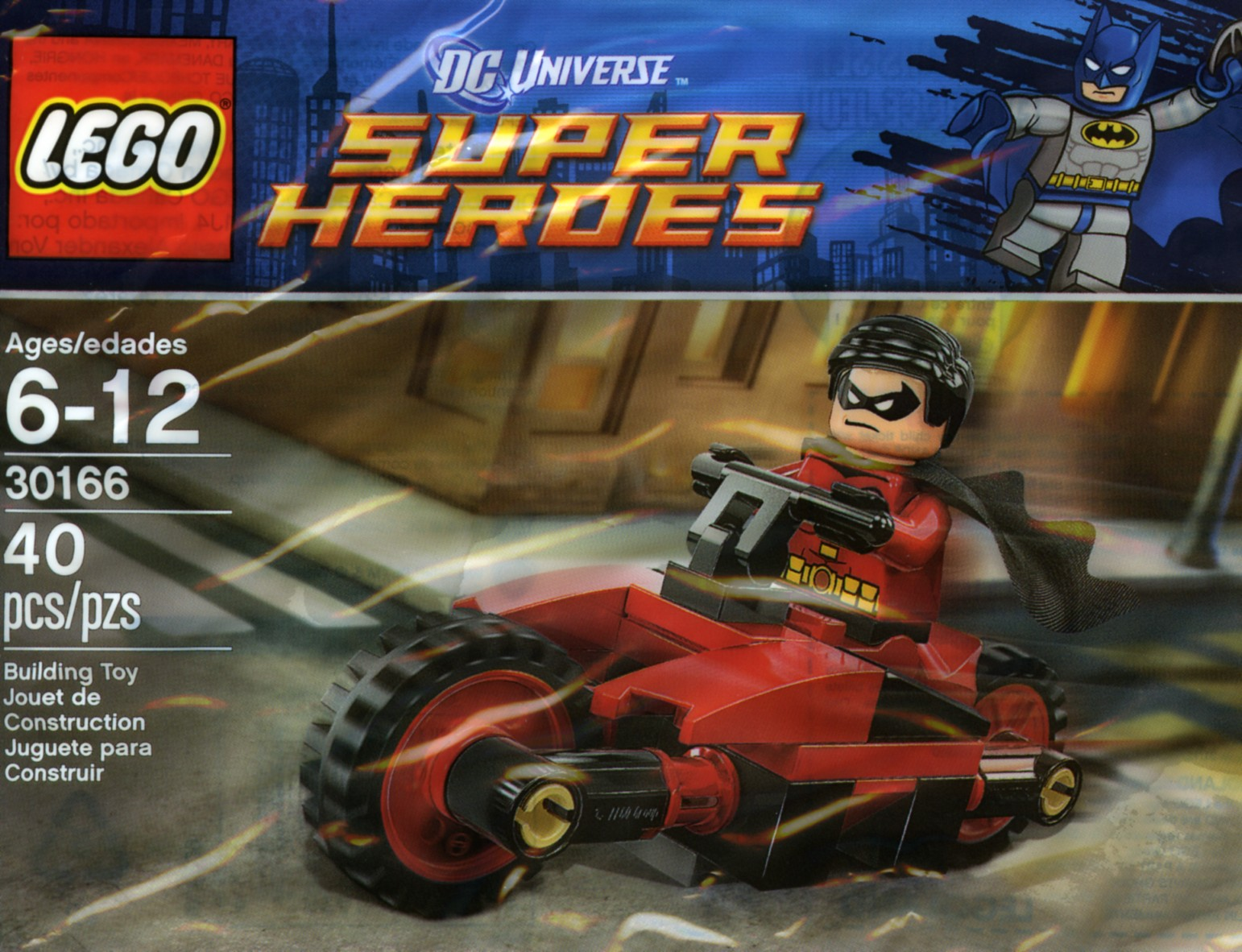 LEGO 30166 - Polybag - Robin and Redbird Cycle