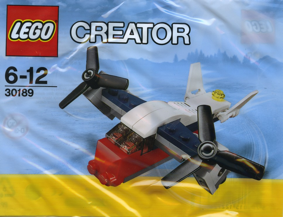 LEGO 30189 - Polybag - Transport Plane