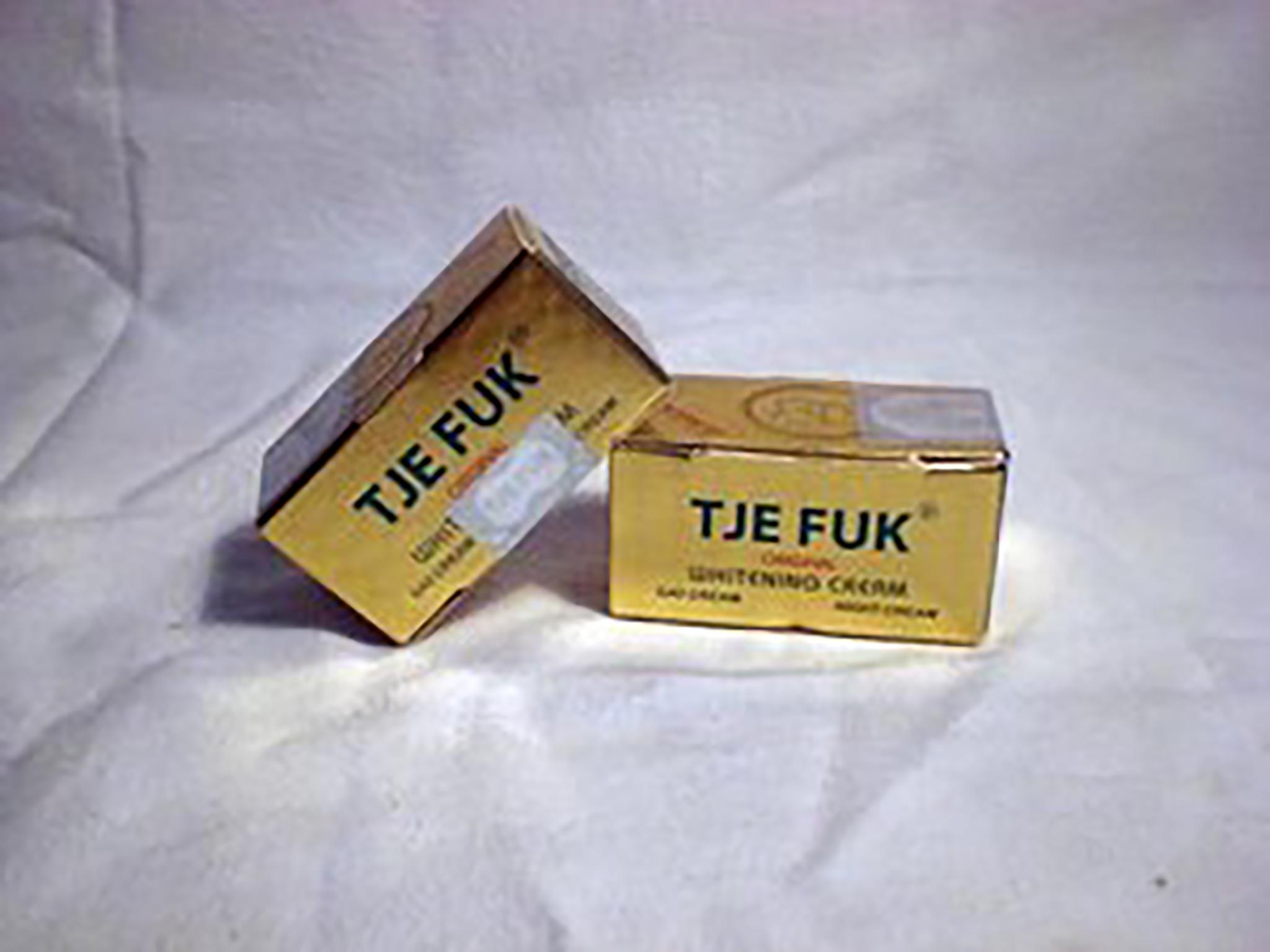 Jual Tje Fuk Whitening Cream Paket Mini