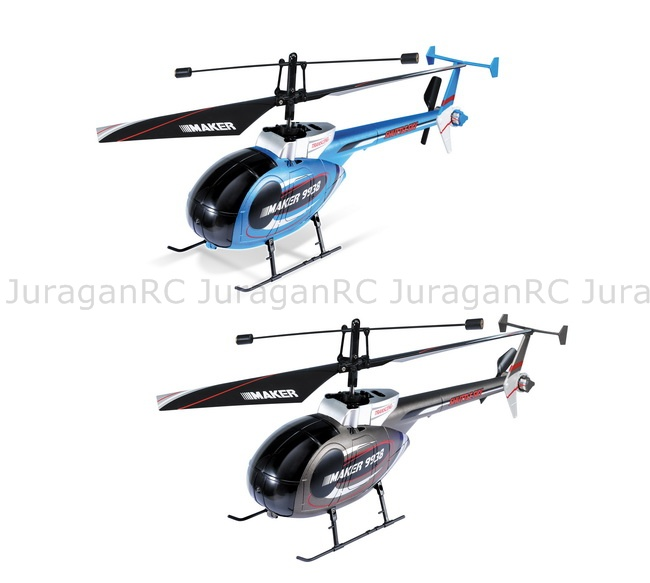 RC Helicopter GW 9938 TX with LED Display