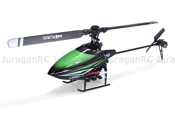 RC Helicopter MJX F48 F648 2.4G 4CH Flybarless Single Blade RTF