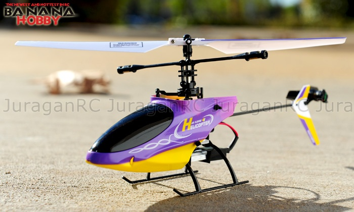RC Helicopter GW 9958 4CH TX with LED Display RTF