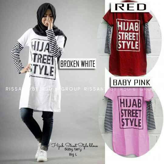 Hijab Street Style Blouse