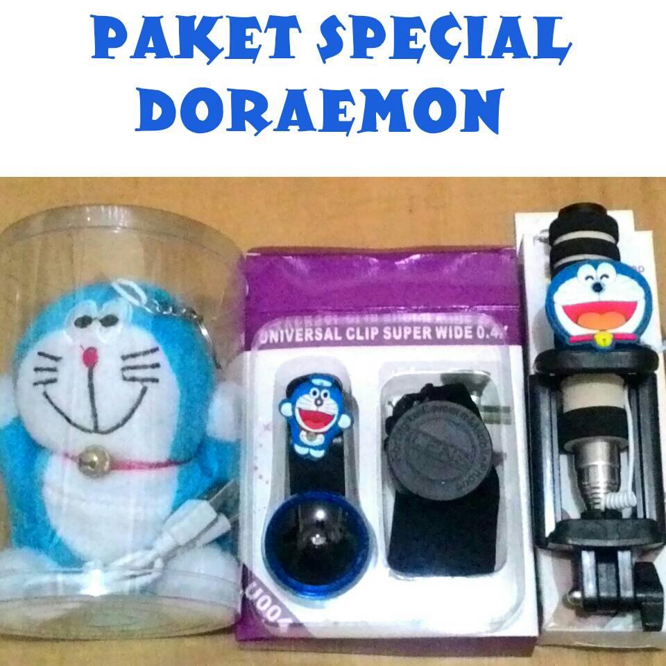 Jual Paket Special DORAEMON * Powerbank Superwide Tongsis Karakter * - ika Dewi Accesories | Tokopedia