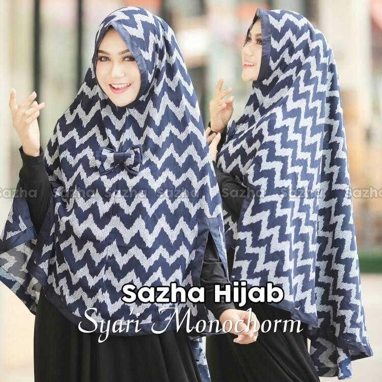 Khimar ADILLA by Sazha Hijab