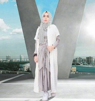 NM-Maxi Arzety Ribbon/Stelan Hijab Arzety/Stelan Baju Muslim Murah