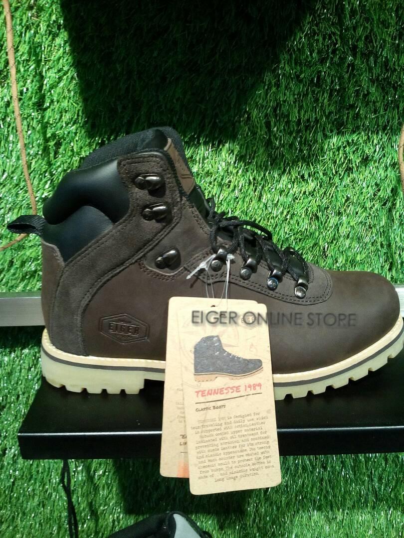 Eiger Sepatu Tennese 1989 Khaki3 Daftar Harga Terkini Dan Termurah Vaught Hitam Jual W1701 Tennesse New Arrival Online Store Tokopedia