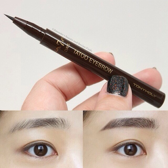 Jual Tonymoly 7 Days Tattoo Eyebrow 02 Darkbrown K Beauty