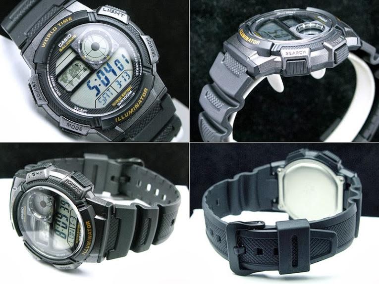 Jam Tangan Casio Original AE-1000-W-1A