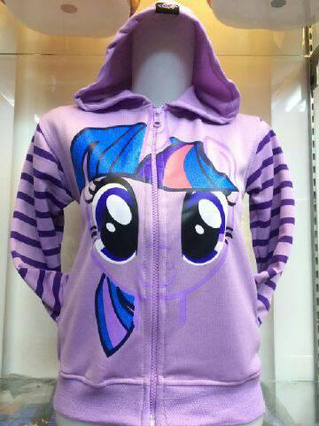 JKKD76 - Jaket Anak Little Pony Twilight Sparkle