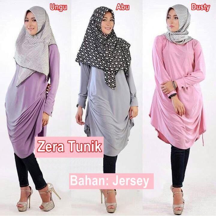 Zera Baju Muslim Tunik Hijab