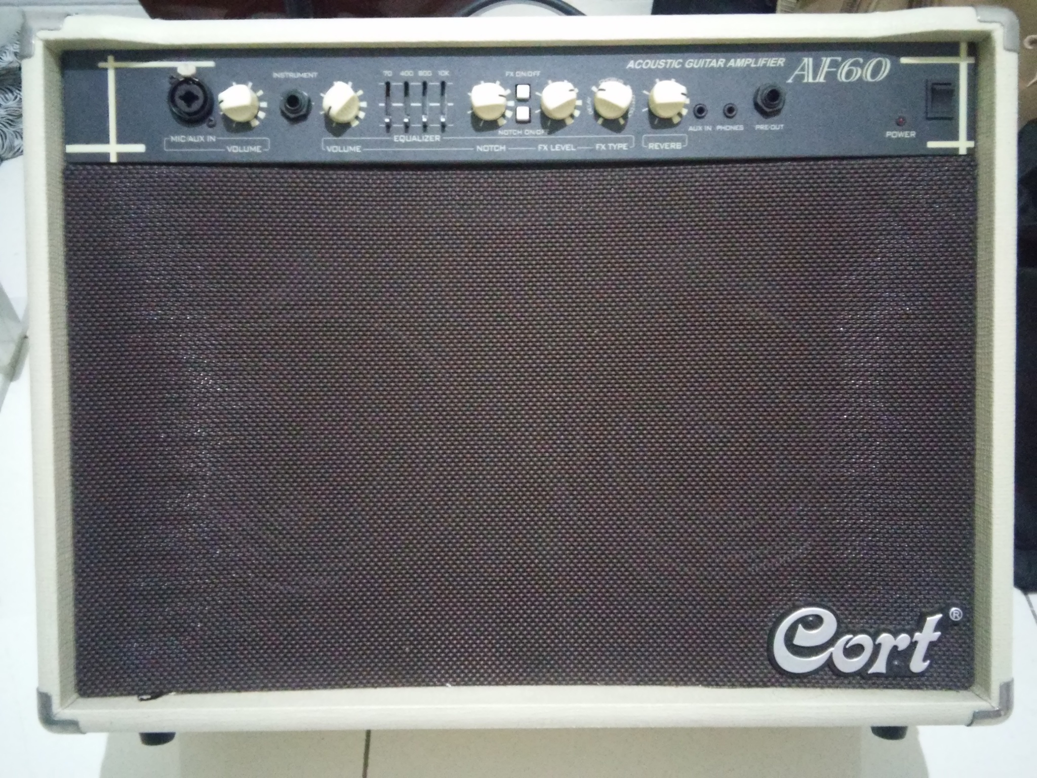 harga Cort AF60 Acoustic Guitar Amplifier Tokopedia.com