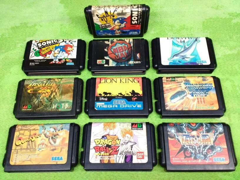 harga Kaset Original Sega Mega Drive / MD Judul Keren Tokopedia.com