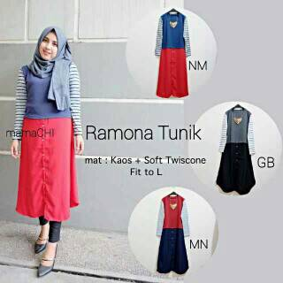 SALE !!!+ dress ramona tunik hijab