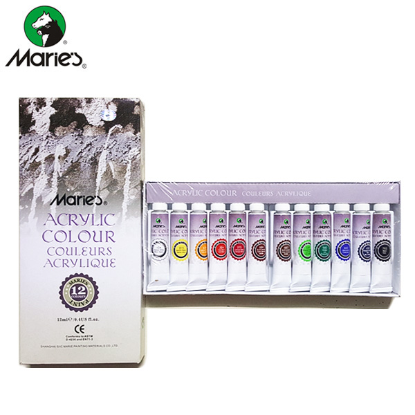 Maries Acrylic Color Set 12 - 812K