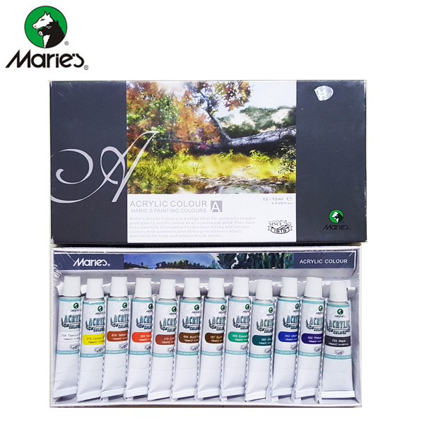 Maries Acrylic Color Set 12 - 812B