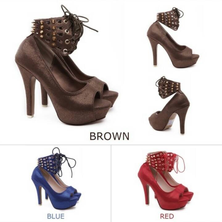 harga Shoes Glitter Embellished Heels Tokopedia.com