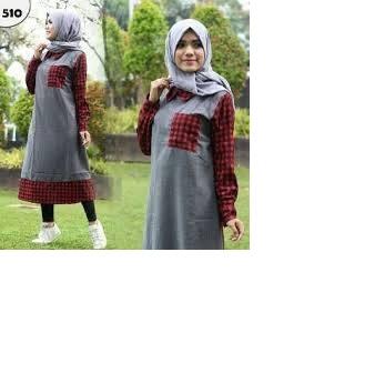 Aulia tunik/ hijab/ ootd/ muslimah