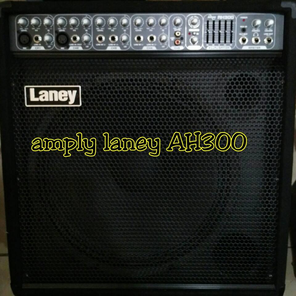 amply ampli amplifier keyboard laney ah300 original