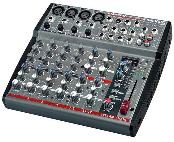 Mixer Audio Phonic AM440D, Mantaffff