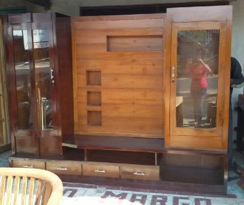 Bufet / penyekat ruangan kayu jati