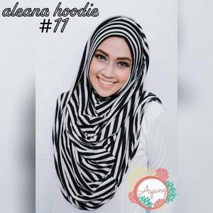 Jilbab Aleana Hoodie / Jilbab Hoodie Salur / Hijab Hoodie Alena